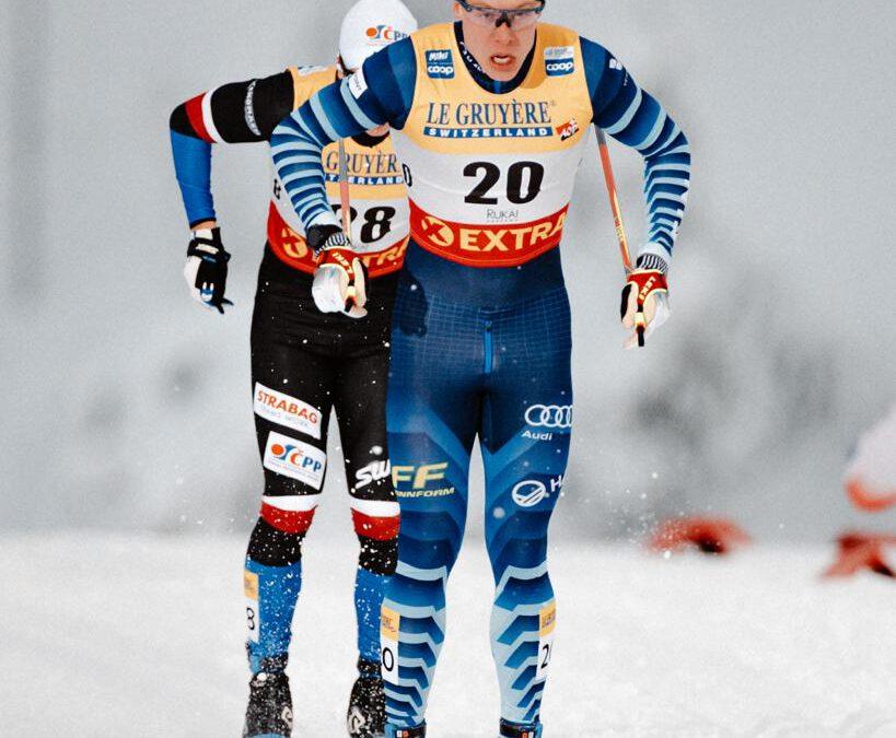 Verneri Suhonen venyi uran parhaaseen perinteisen sprinttiin Rukalla