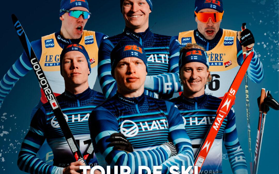 Verneri Suhonen mukana tammikuun alussa alkavalla Tour de Ski:llä!