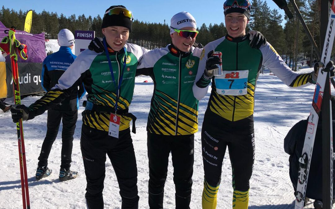 Hopeasomman loppukilpailut kisailtiin Vuokatissa 9.-11.4.2021